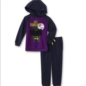 Infant Boys' Hooded Sweatshirt & Pants - Bat